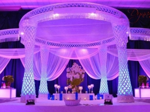 Dynamic Crystal Mandap 4