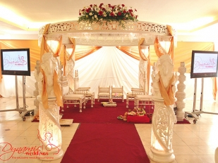 Dynamic Half Full Crystal Mandap 2