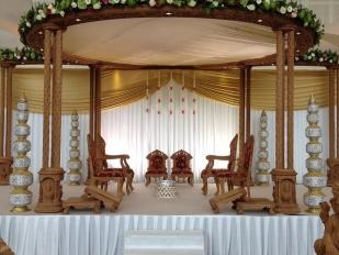wooden mandap 2c