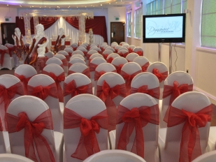 Chair covers Red