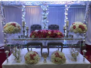 clear head table