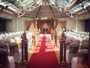 Manor of groves Wedding set up Dynamic Roadshow